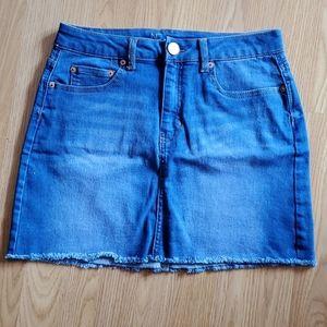 Denim style skirt